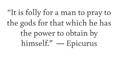 prepardness quote by epicurus