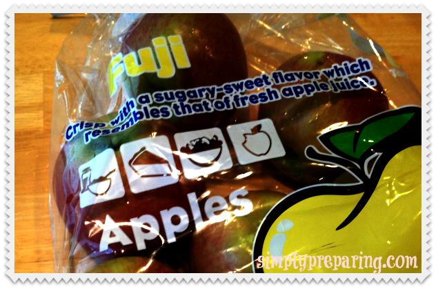 5# bag of fuji apples
