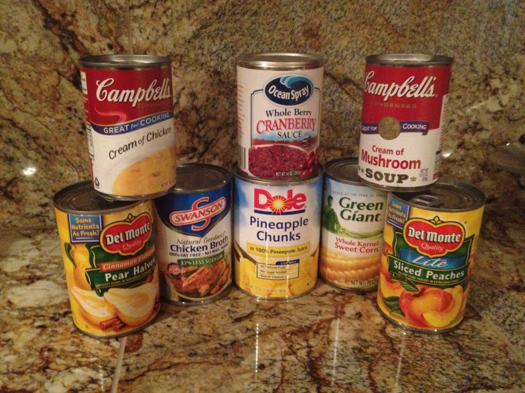 Ideas for building long term food storage using Thanksgiving loss leaders.