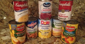 Ideas for canned goods prepping at Thanksgiving