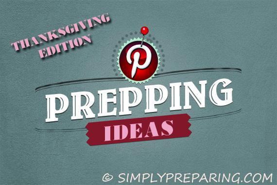thanksgiving prepping pinterest ideas