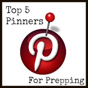 top 5 pinners to follow for prepping