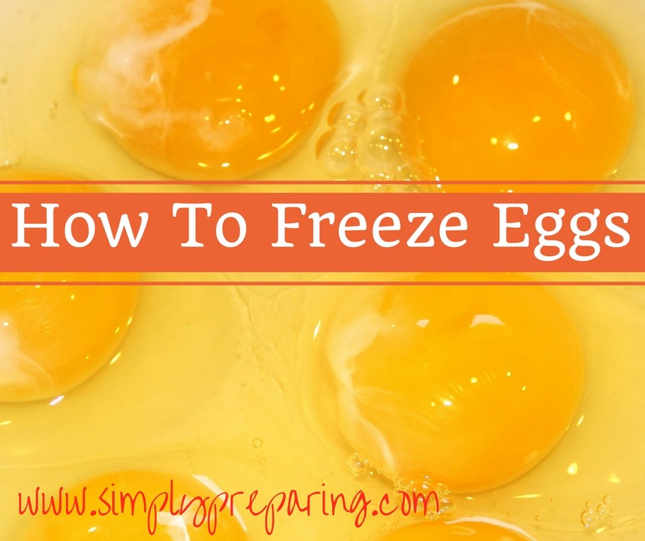 How to freeze eggs for all of your baking needs!