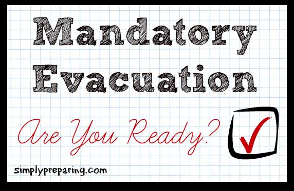 mandatory evacuation