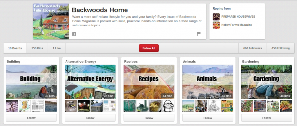 Backwoods Home on Pinterest