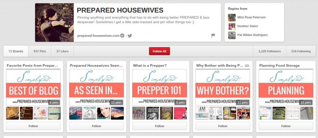 prepared housewives on pinterest