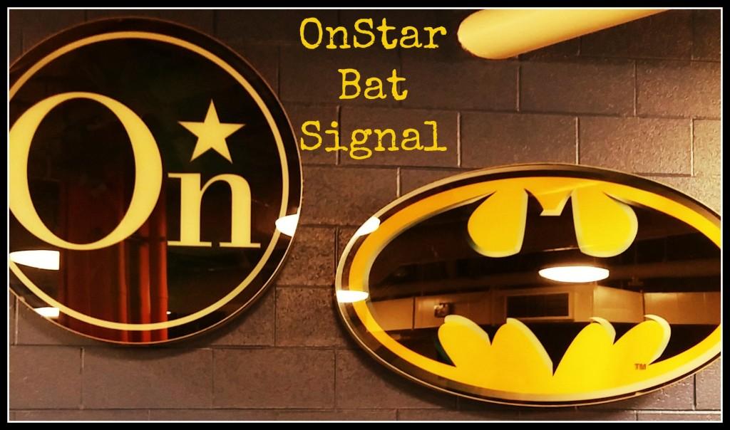 onstar bat signal