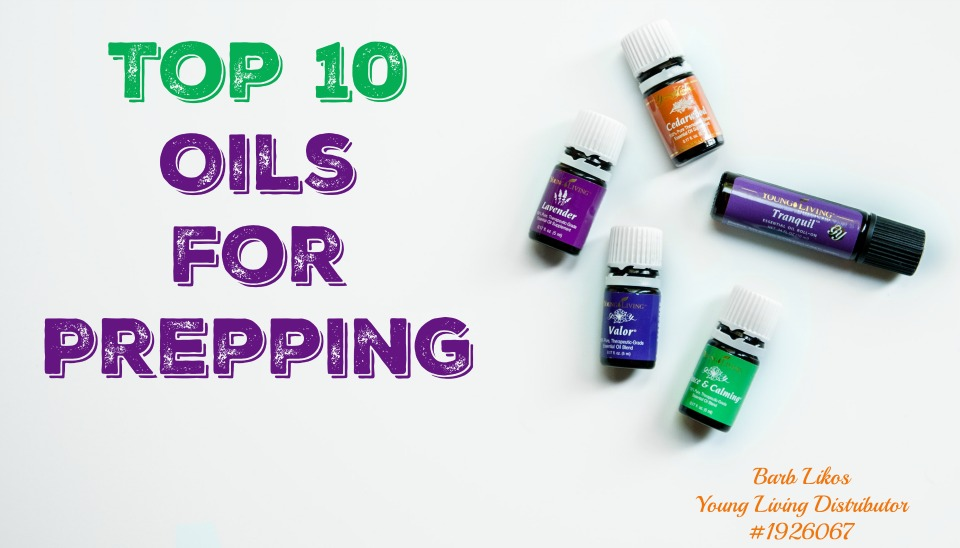 top 10 oils for prepping