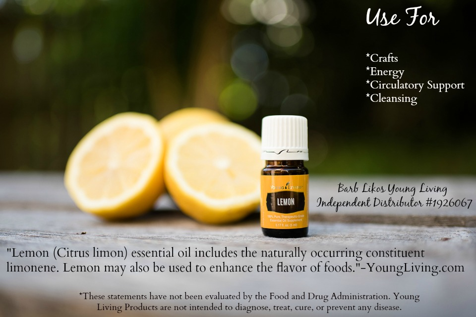 Oils for Prepping: Lemon Essential OIl