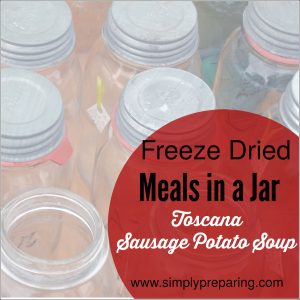 How to make Freeze Dried Meals in a Jar