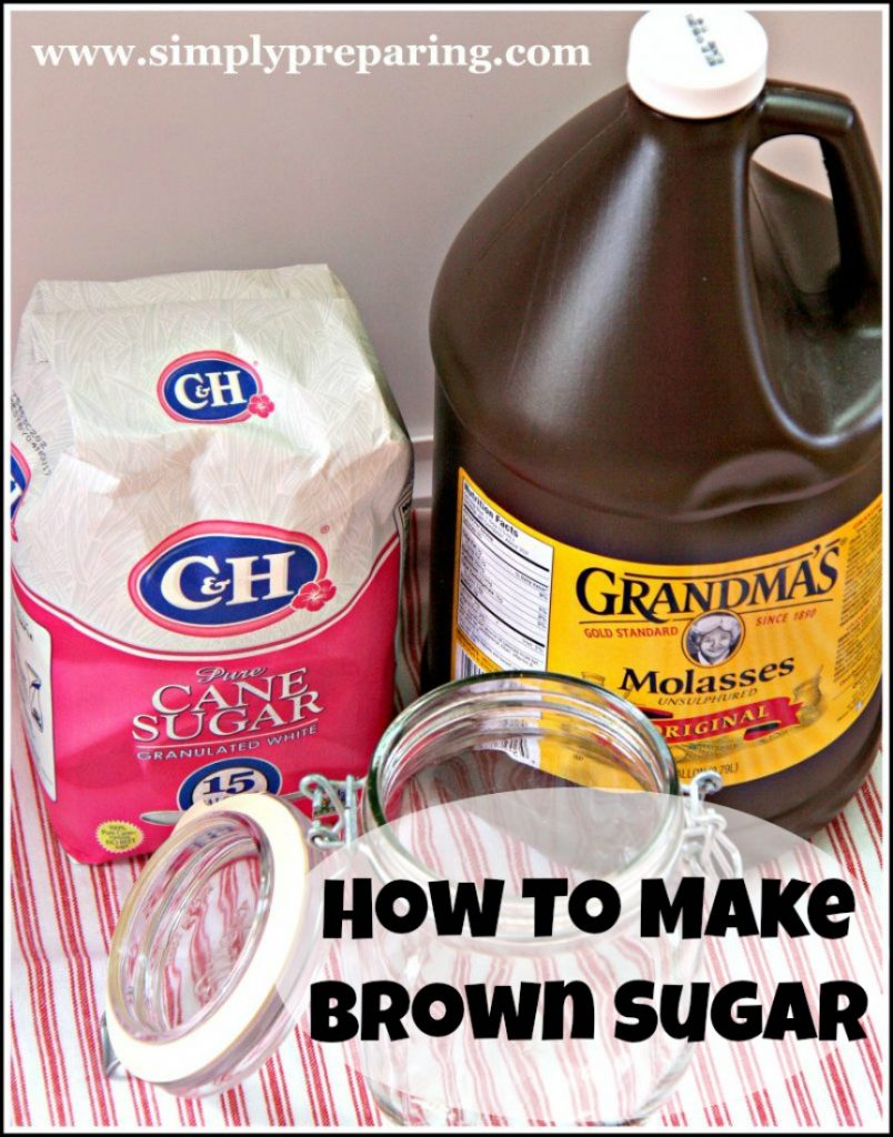 Make Your Own Brown Sugar and Save Time And Money