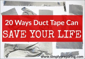 survival uses for duct tape