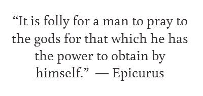 prepardness quote by epicurus