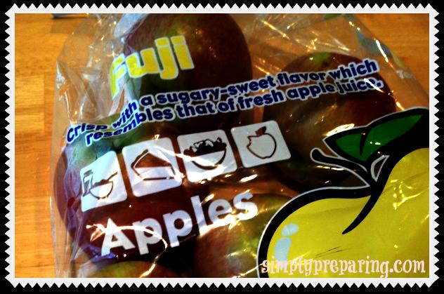5# bag of fuji apples