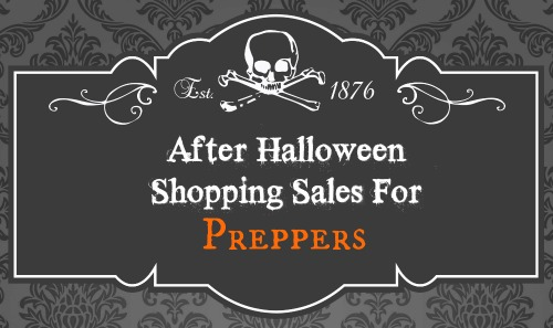 halloween sales on prepping