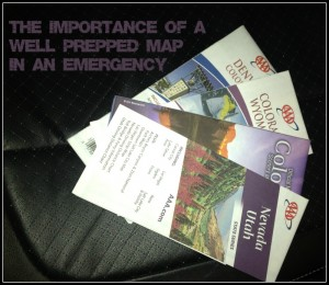 Printed maps as a part of your emergency and disaster planning