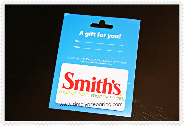 Smith's Grocery Store Gift Card