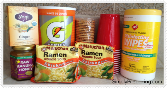 flu preparedness supplies