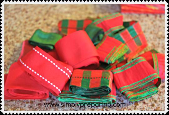 recycled ribbon