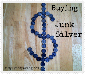 junk silver dollar sign