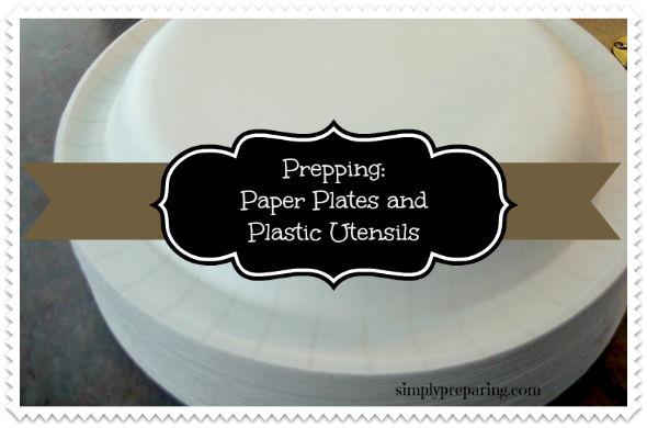 paper plates for emergencies
