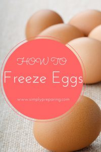 Yes! You CAN freeze eggs! Here's how!