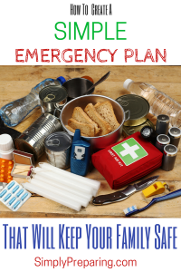 Creating An Emergency Preparedness Blueprint