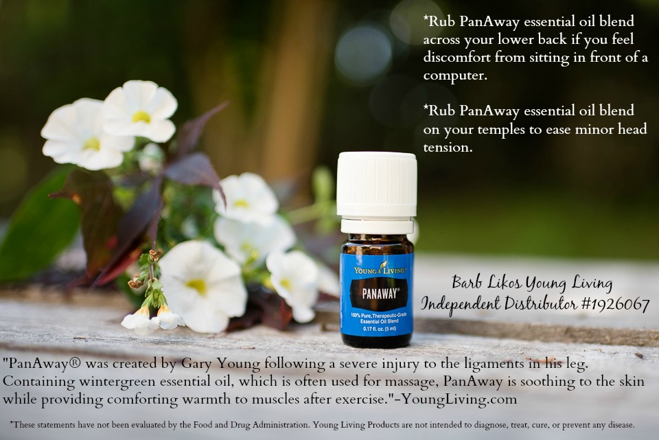 Oils for Prepping: Panaway Essential Oils