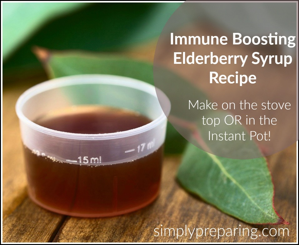 Homemade Elderberry Syrup Dosage