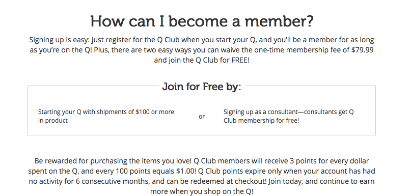 How to join the Thrive Life Q Club For FREE