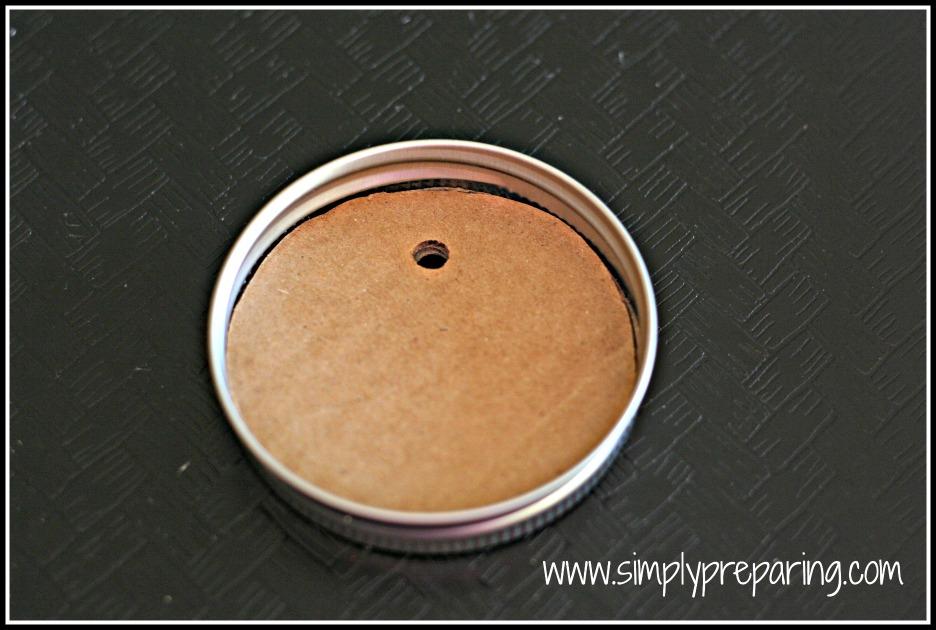 Making Mason Jar Match Holders