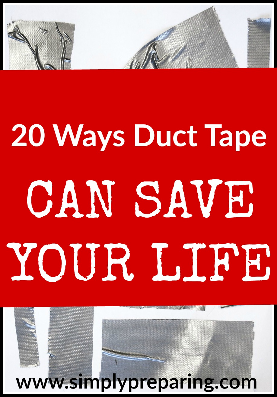 Duct Tape Hacks for Preppers