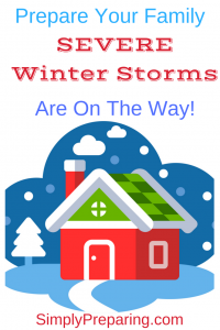 A Checklist for Surviving Winter Storms