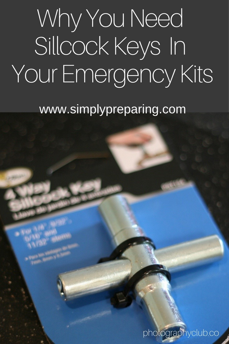 Why You Need Sillcock Keys in Your Emergency Preparedness Kits