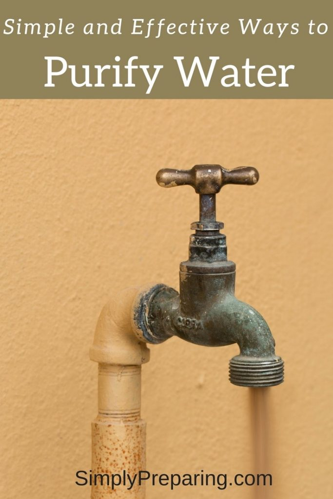 How To Filter and Purify Water