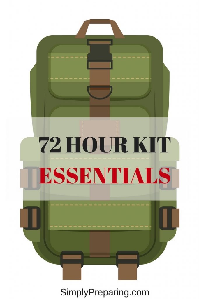 72 Hour Kit Essentials