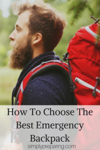How To Choose The Best Emergency Backpack