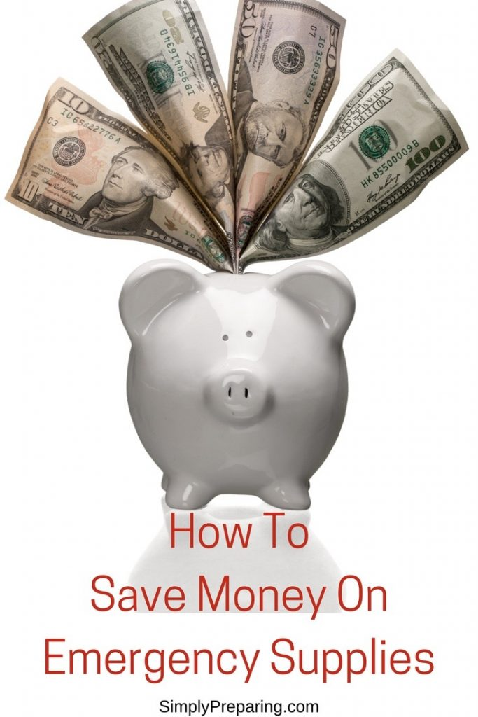 How To Save Money On Emergency Supplies