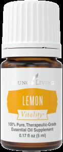 Essential OIls for Prepping: Lemon Vitality