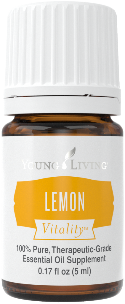 Essential OIls for Prepping: Lemon Vitality