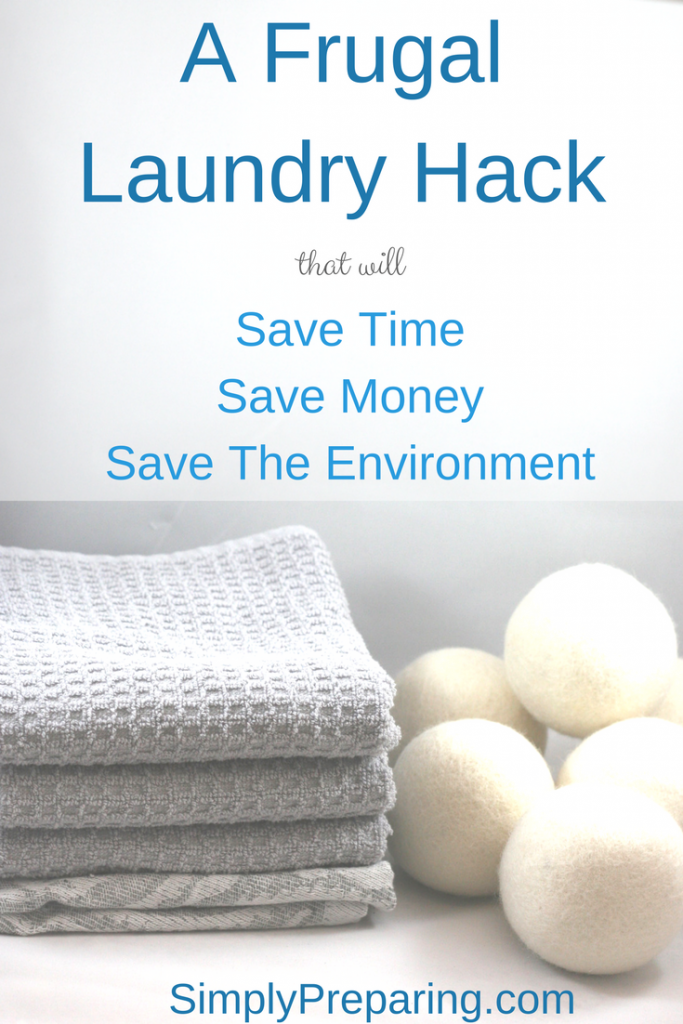 Frugal Laundry Hacks: Wool Dryer Balls