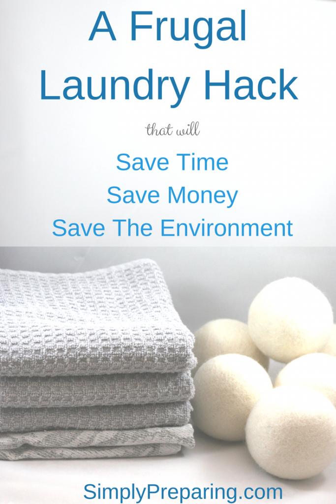 Frugal Laundry Hacks: Wool Dryer Balls
