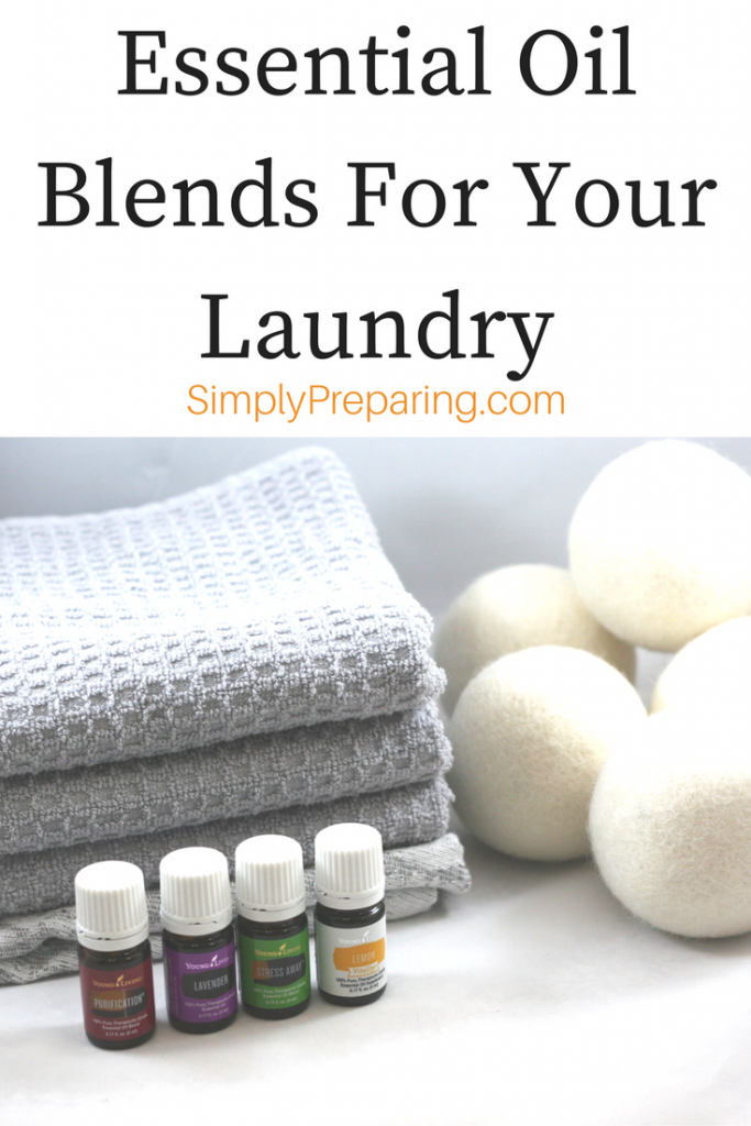 Frugal Laundry Hacks with Young Living Essentail Oils