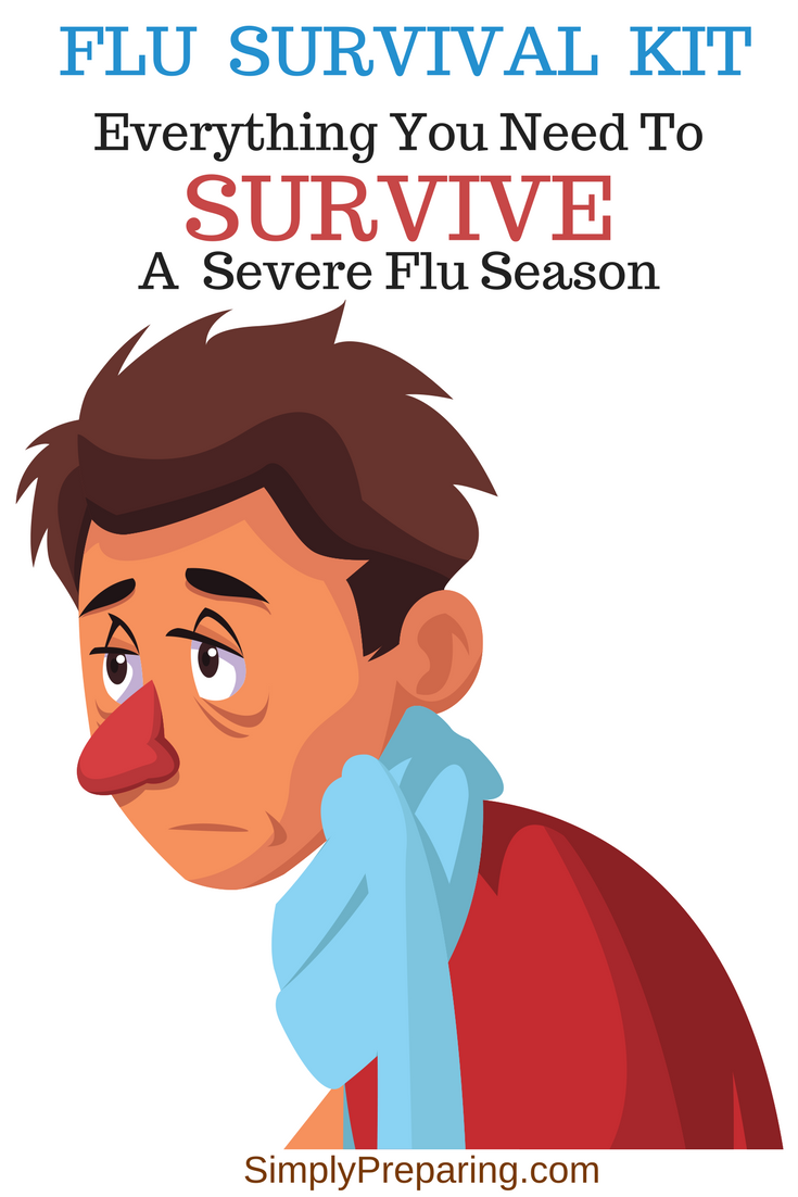 Flu Preparedness Supplies and Survival Kit