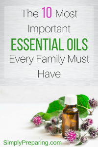 Top 10 Essential Oils For Preppers
