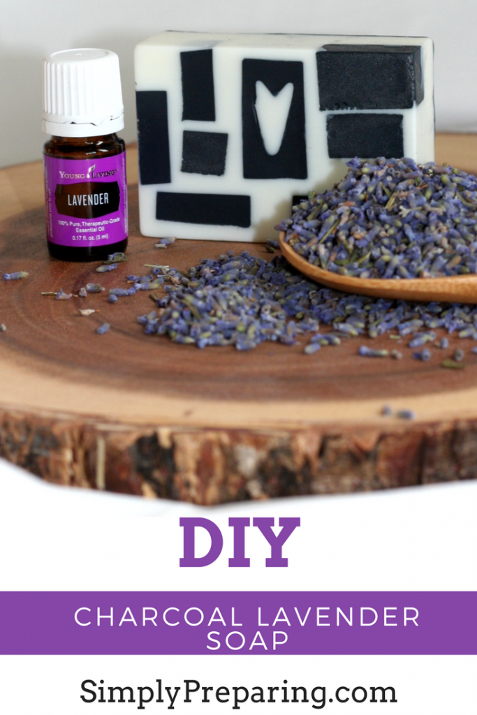 Lavender Charcoal Soap DIY Recipe