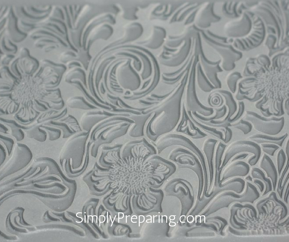 Texture Mats for Making Embossed Soap With No Lye Melt and Pour Soup