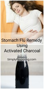 Stomach Flu Remedy Using Activated Charcoal
