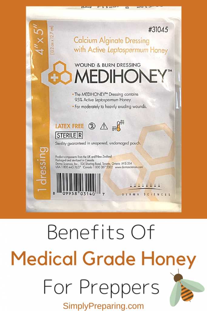 Medical Grade Honey for Emergency Preparedness