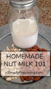 Easy Homemade Nut Milk Recipe